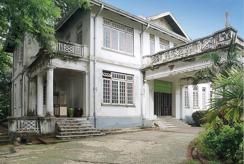 Denkmalgeschützte zukünftige Goethe-Villa