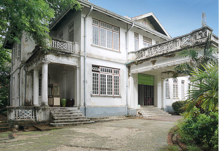 The future Goethe Villa, a protected architectural monument